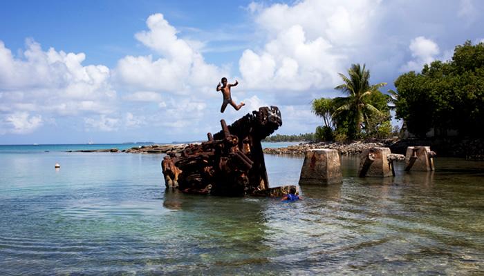 O que fazer em Tuvalu: Restos Históricos