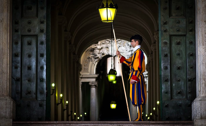 O que fazer no Vaticano: Guarda Suíça