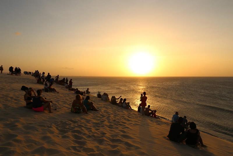O que fazer em Jericoacoara/CE: Pôr do Sol na Duna do Pôr do Sol
