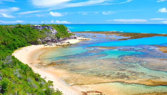 O que fazer em Arraial d'Ajuda/BA: Praia em Caraíva