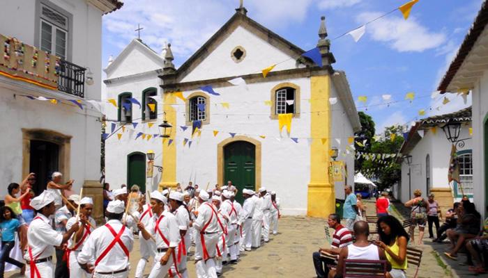 O que fazer em Paraty/RJ: Igreja Nossa Senhora do Rosário