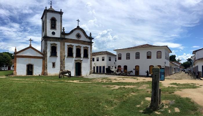 O que fazer em Paraty/RJ: Igreja de Santa Rita