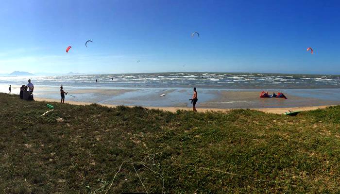Praia Rasa, Búzios/RJ: Kitesurf