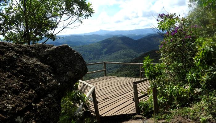O que fazer em Monte Verde/MG: Mirante da Pedra Redonda