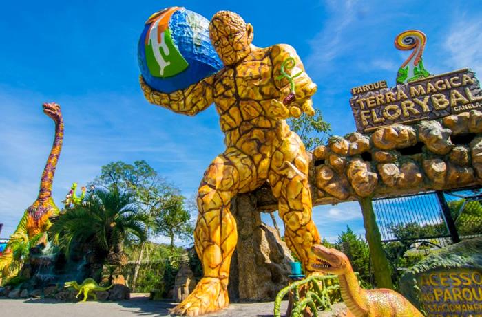 O que fazer em Canela/RS: Parque de Diversões Terra Mágica Florybal
