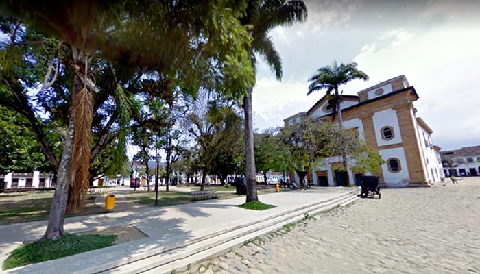 O que fazer em Paraty/RJ: Praça da Matriz