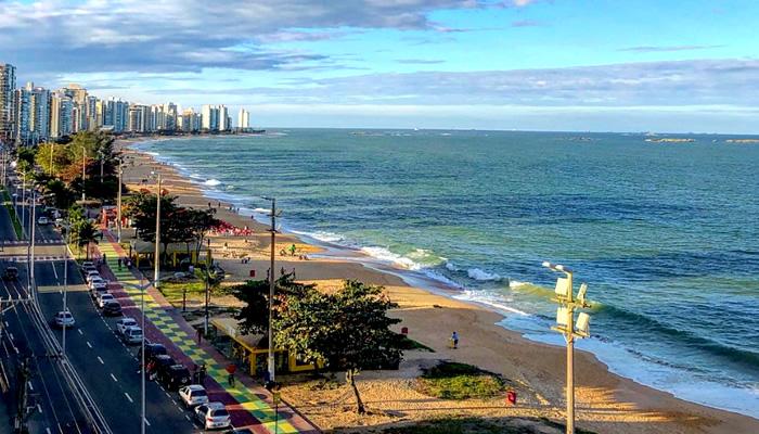 Conheça a Praia de Itaparica, em Vila Velha/ES