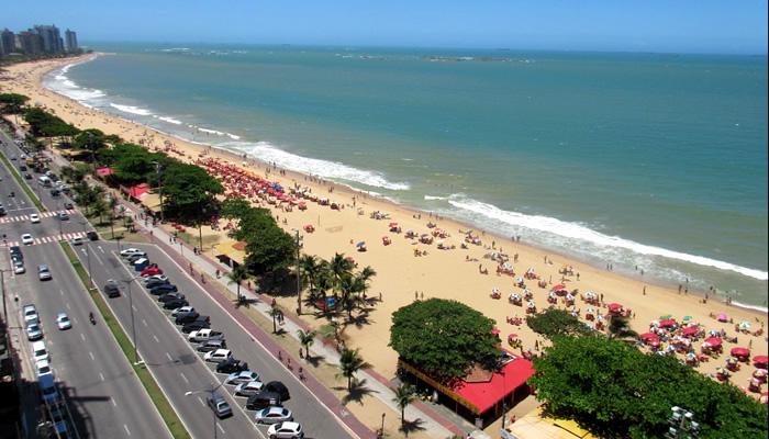 Infraestrutura da Praia de Itaparica, em Vila Velha/ES