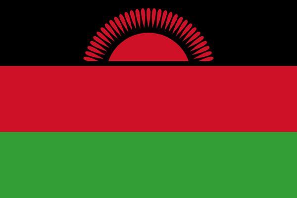 Bandeira do Malawi (Maláui)