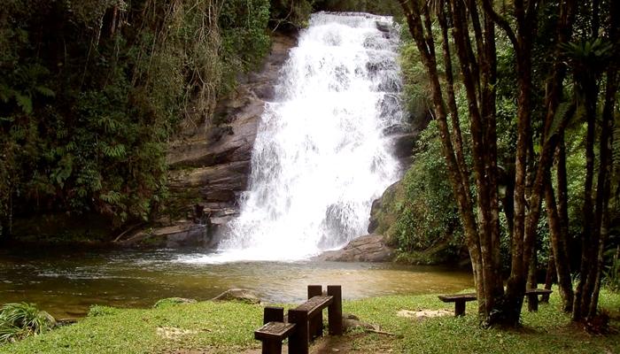 O Que Fazer em Bananal (SP): Cachoeira na Estação Ecológica de Bananal