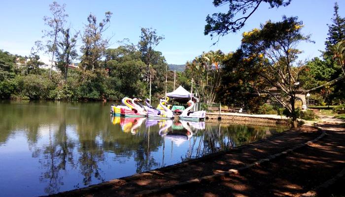 O Que Fazer em Atibaia (SP): Pedalinhos no Parque Edmundo Zanoni