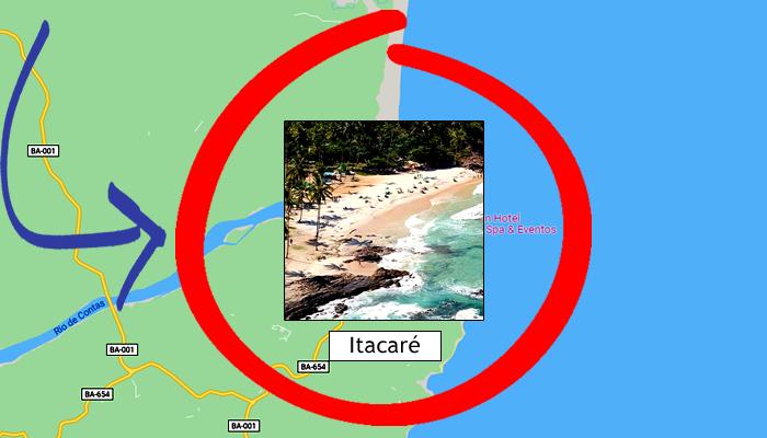 Como chegar em Itacaré (BA)?