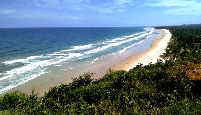 Vista do Mirante da Praia do Pé de Serra, em Itacaré (BA)