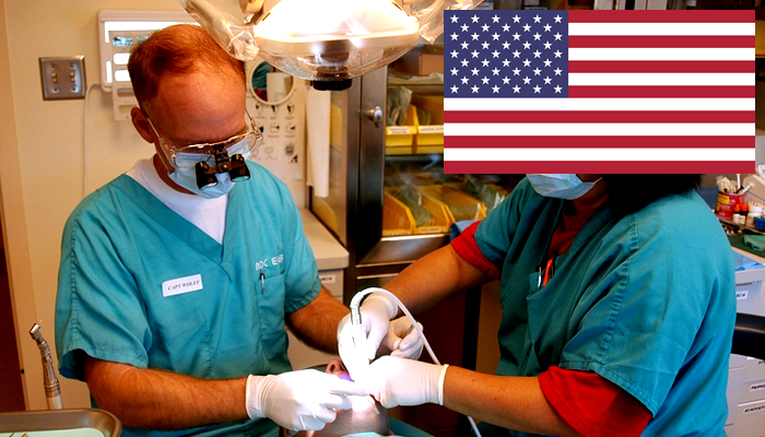 Quanto ganha um dentista nos Estados Unidos?