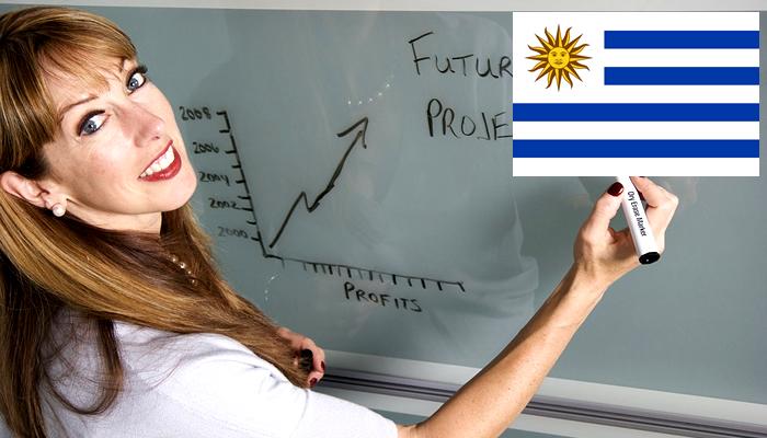 Quanto ganha um professor no Uruguai?