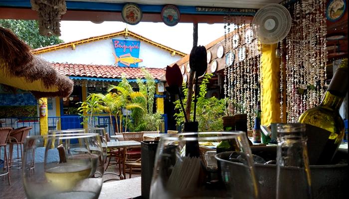 Jantar no Restaurante Beijupirá