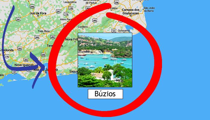 Como chegar em Búzios (RJ)?