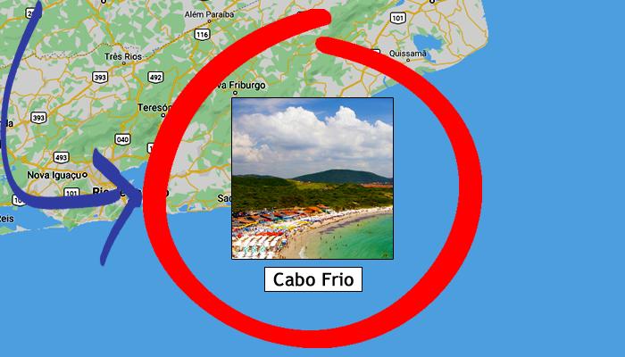 Como chegar em Cabo Frio/RJ?