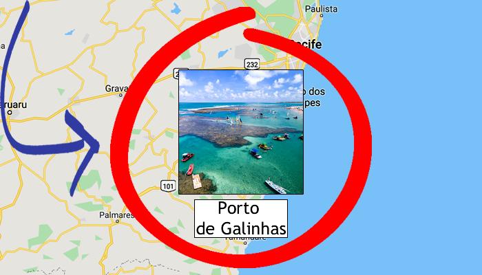 Como ir para Porto de Galinhas (PE)?