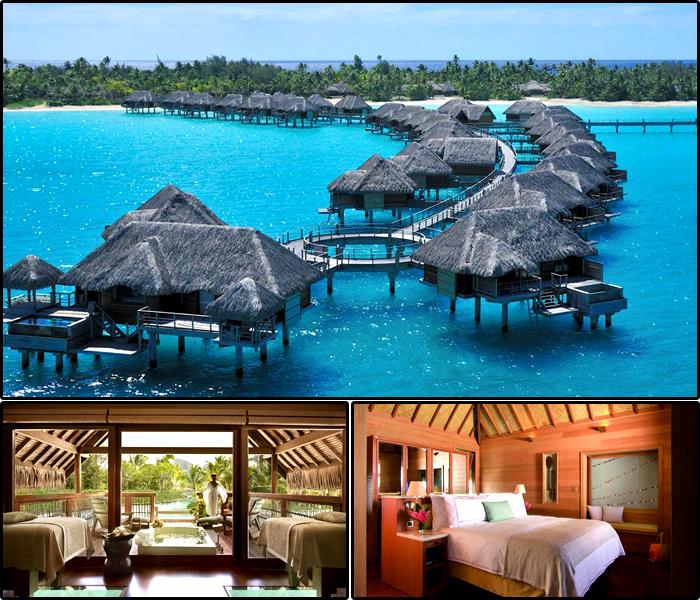Four Seasons Bora Bora, Polinésia Francesa