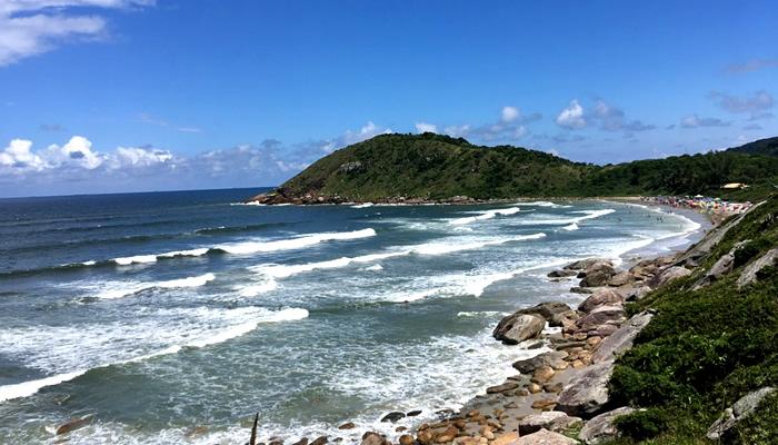 Ilha do Mel, vista do Farol das Conchas