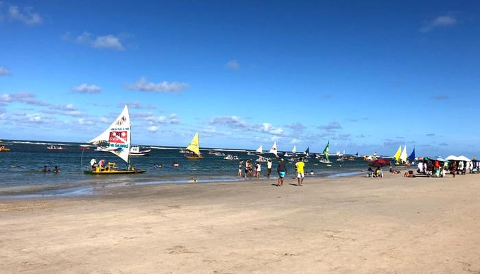Praia da Vila de Porto de Galinhas (PE)