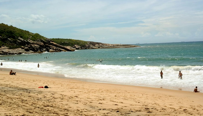 Praia da Barra do Jucu