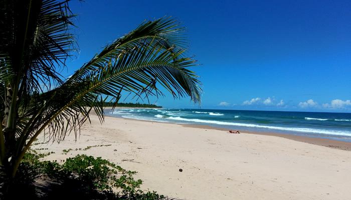 Praia de Algodões, na Península de Maraú