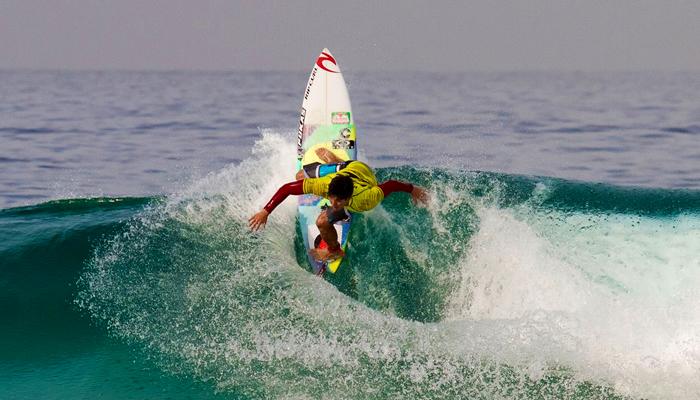 Pontos de surfe