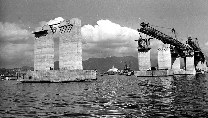 Histórias e Curiosidades da Ponte Rio-Niterói: Construção da Ponte Rio-Niterói
