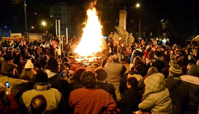 Celebração das Fogueiras de San Juan