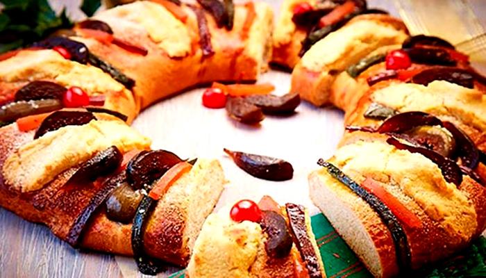 Rosca de Reyes (Coroa dos reis)