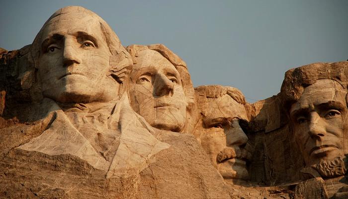 Monte Rushmore, em Keystone (Dakota do Sul), nos EUA