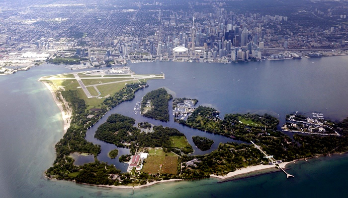 Toronto Islands and Centreville