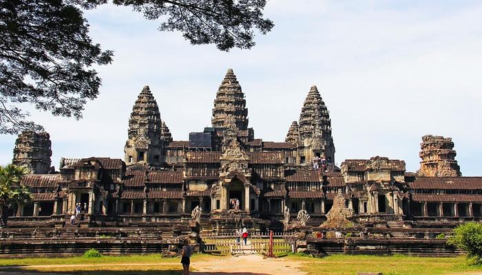 Templo de Angkor Wat (Camboja)