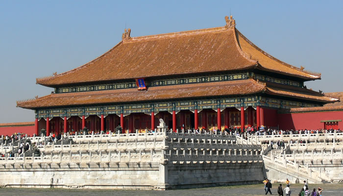 A Cidade Proibida, na China: Salão da Suprema Harmonia