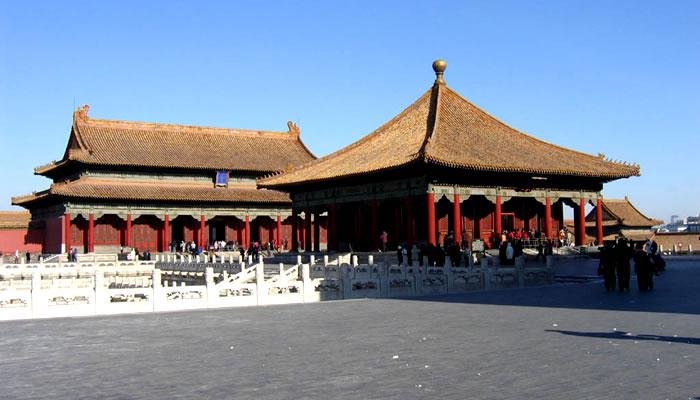 A Cidade Proibida, na China: Salão da Preservação da Harmonia