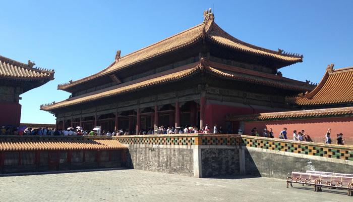 A Cidade Proibida, na China: A Cidade Proibida, na China:Palácio da Tranquilidade Terrestre