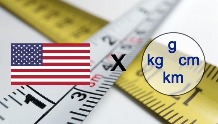 Por que os Estados Unidos não usam o sistema métrico tradicional?