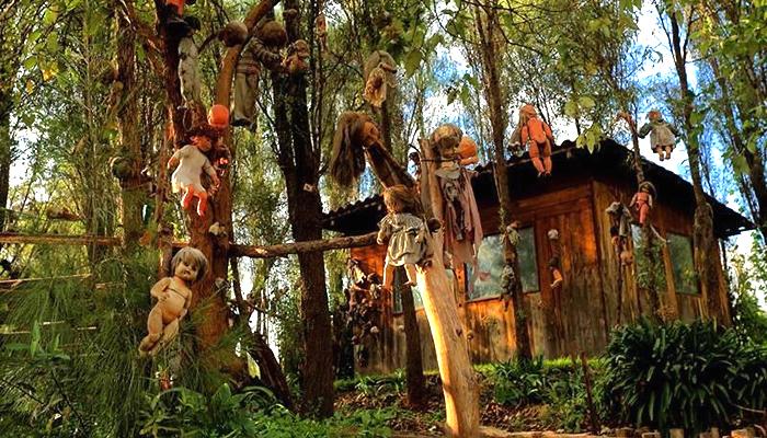 A Ilha das Bonecas, no México