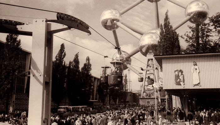 História do Atomium: Feira Mundial Expo 58, em Bruxelas