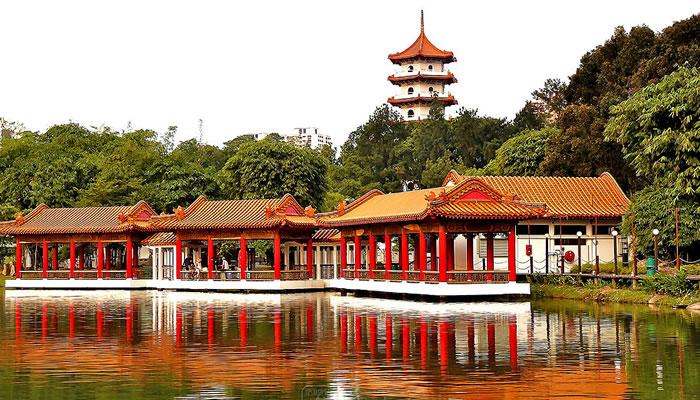 Jardins Chinês e Japonês de Singapura