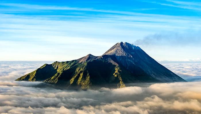 Mount Merapi, Indonésia