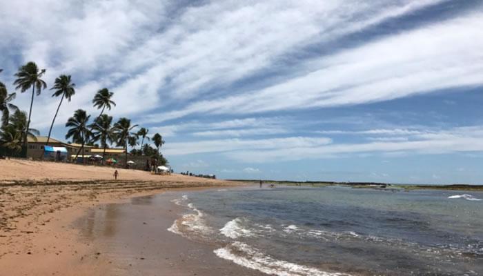 As melhores praias de Camaçari: Praia Jauá