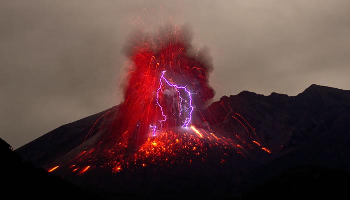 Sakurajima, Japão