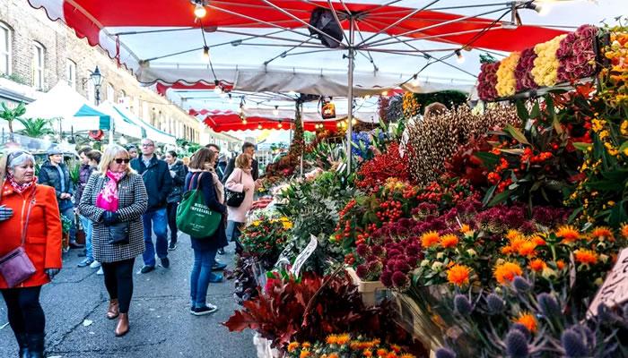 Mercado de Flores da Columbia Road (Columbia Road Flower Market)