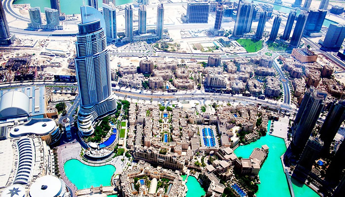 Dubai tem um sistema próprio de endereço