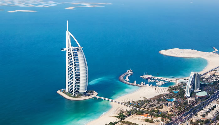 Dubai tem o único hotel 7 estrelas do mundo