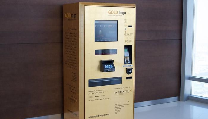 Você pode comprar ouro até no caixa eletrônico