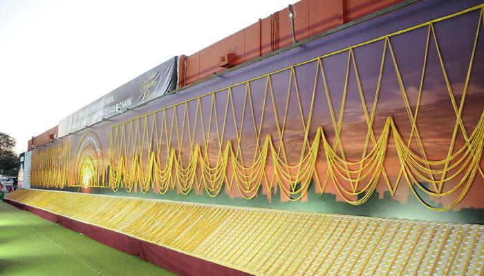 Dubai produziu a corrente de ouro mais longa do mundo